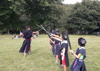 combat archerie tag idée activité evjf enterrement de vie de jeune fille