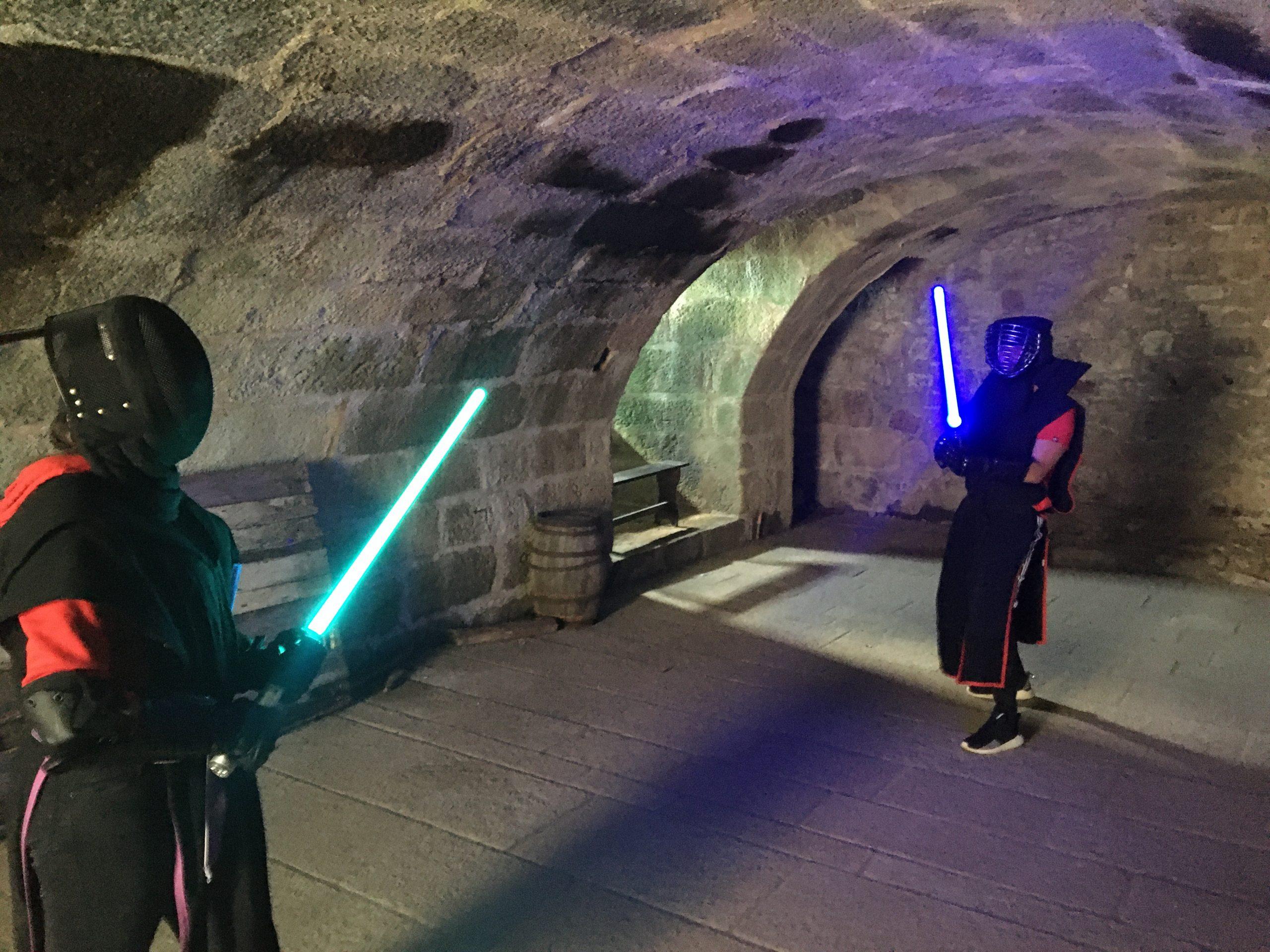 combat sabre laser combat au sabre activite evjf idée enterrement de vie evg