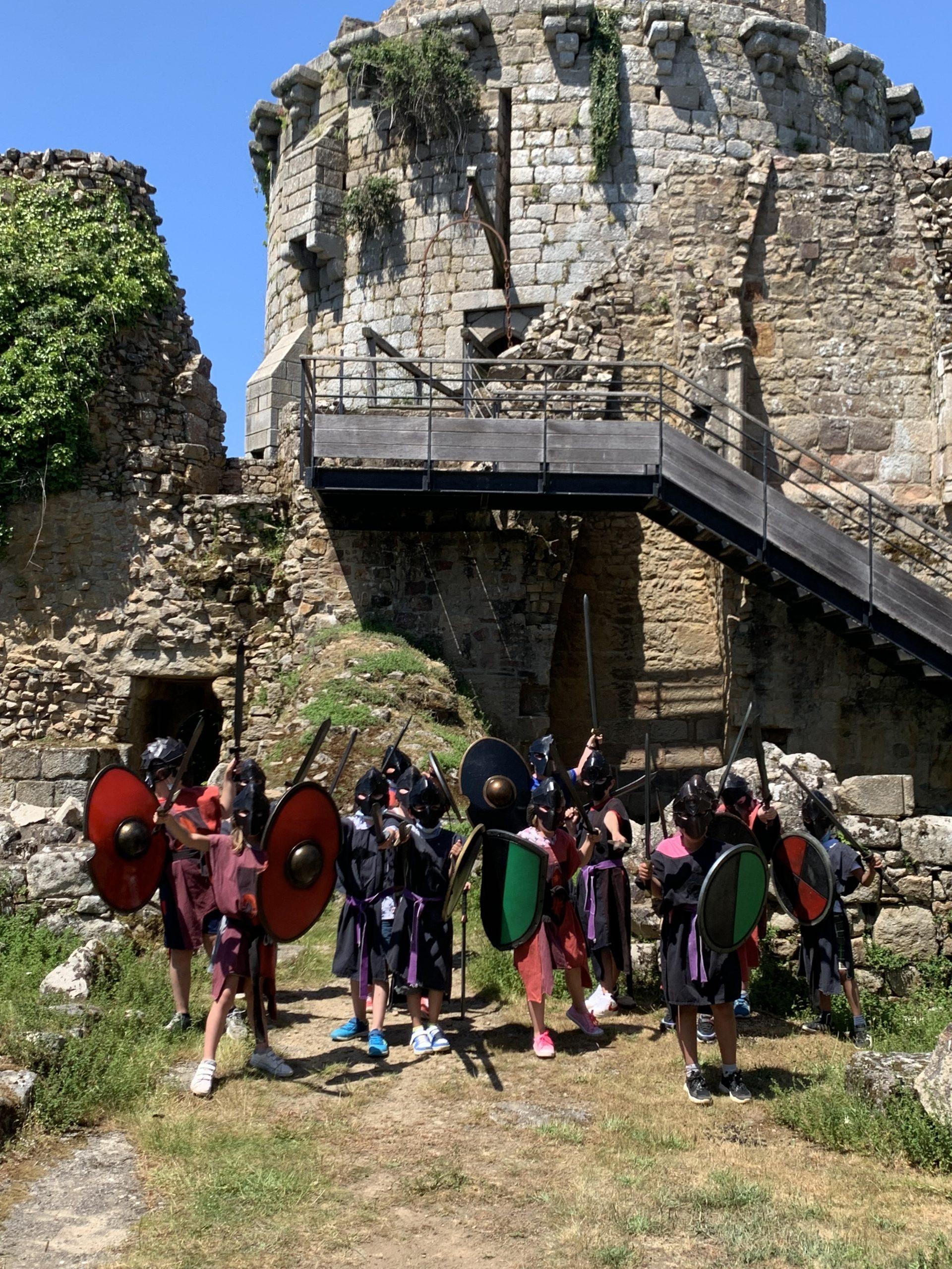 ecoliers chevaliers bretagne actv
