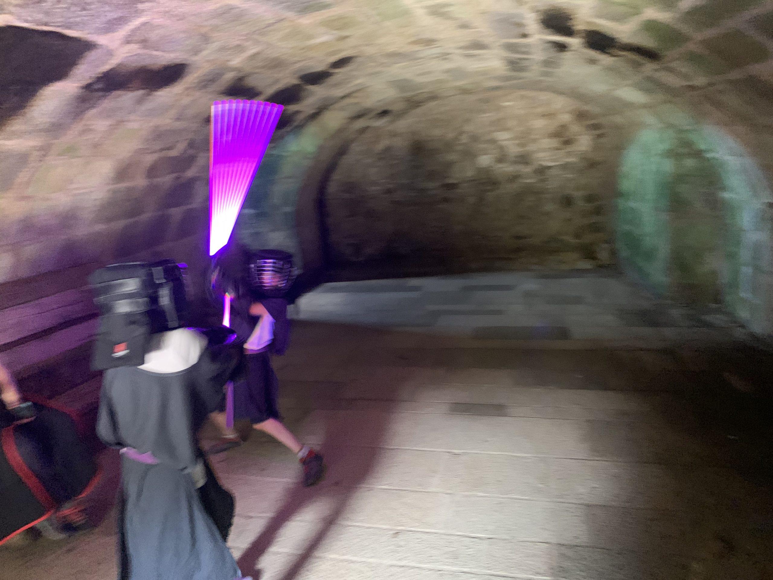 sabre laser chateau de toncquédec bretagne archerie tag activité evjf evg