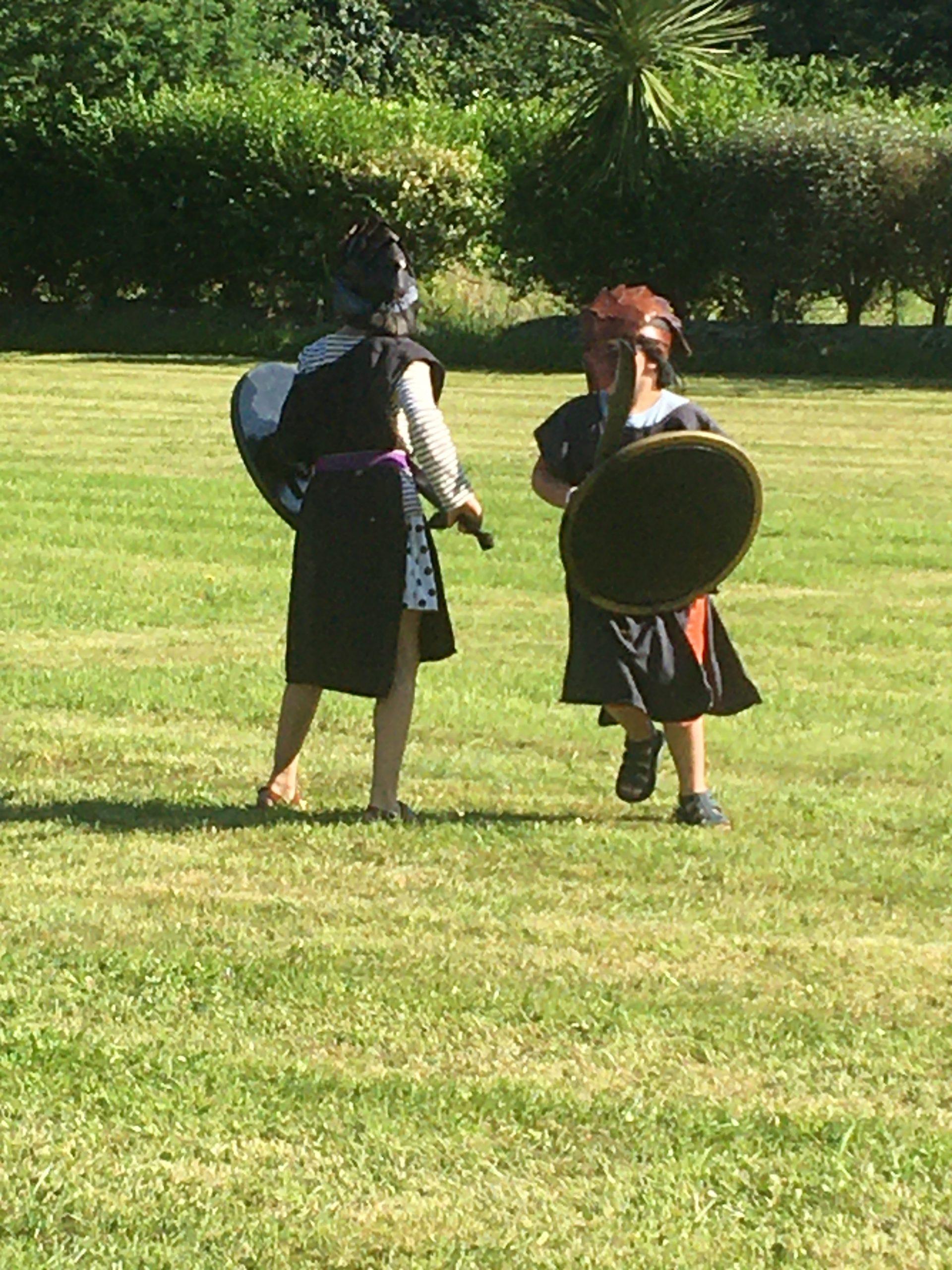 enfants activités bretagne fun chevaliers